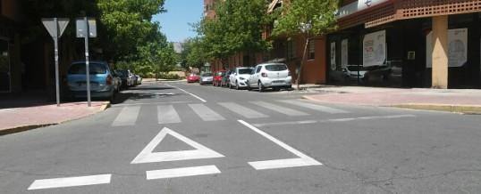 Aserpinto compra una máquina para el estarcido de símbolos y líneas para la señalización de los viales de asfalto en las calles