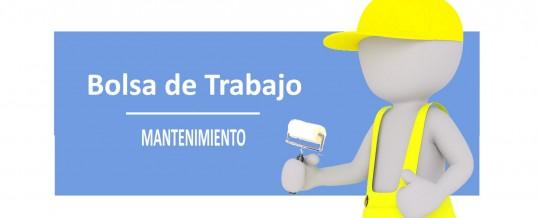 Bolsa de trabajo para contratos temporales de Peón y Oficial de 2ª Pintor