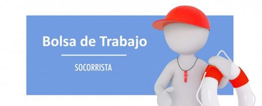 Bolsa de trabajo para contratos temporales de Socorrista en la Piscina de Verano