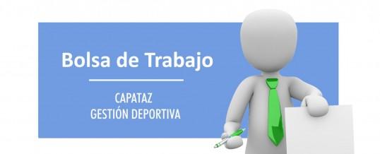 Bolsa de trabajo para contratos temporales en el área de Gestión Deportiva